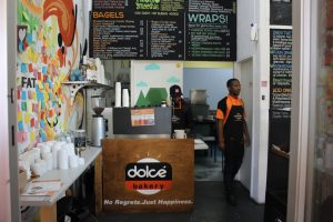 Dolce Bakery entrance