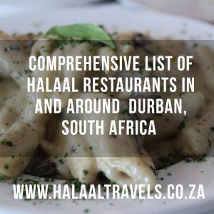 Durban Restaurants