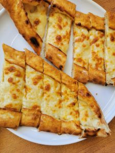 Cheesey pide