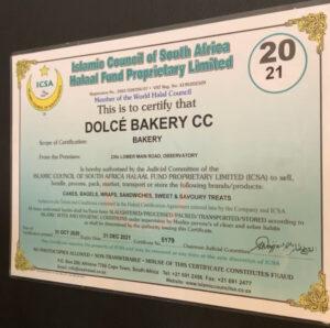 Halaal Certificate