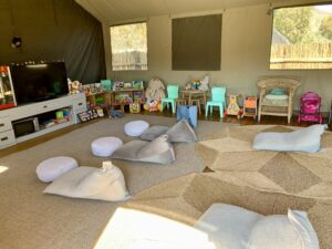 Kids indoor play area