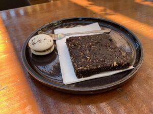 No bake brownie